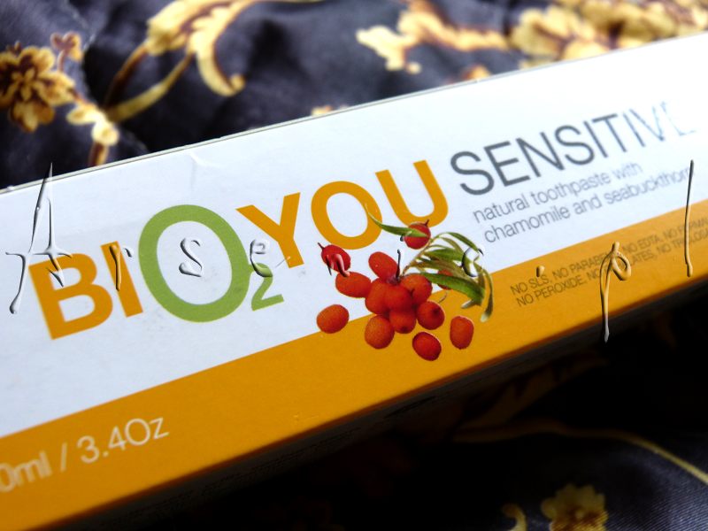 Bio2You Pasta do zębów wrażliwych z rokitnikiem, rumiankiem i aloesem