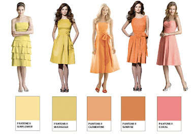 Sunshine Palette BrideSmaid