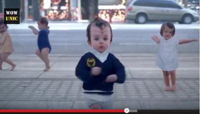 Wow, Vedio Lucu BANGET bayi Menari kayak Penari Hebat