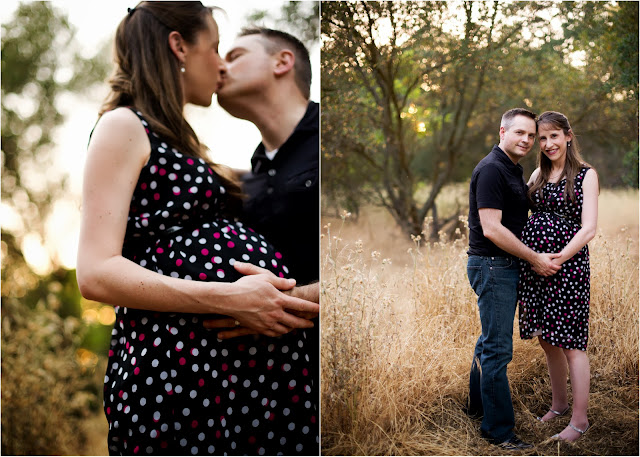 Beautiful Outdoor Maternity Session--The Golden Hour