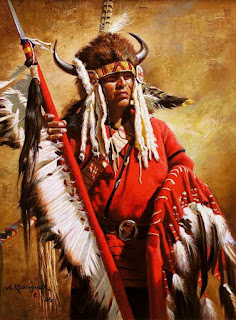 Indios Americanos Oleos
