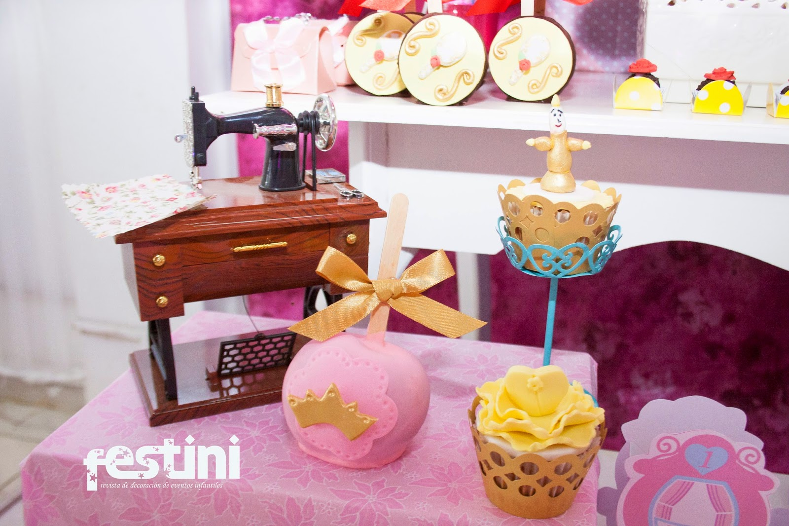 Ideas para un cumplea os de princesas de disney for Decoracion cumpleanos princesas