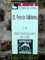 Indicador de Sant Pere de Valldeneu