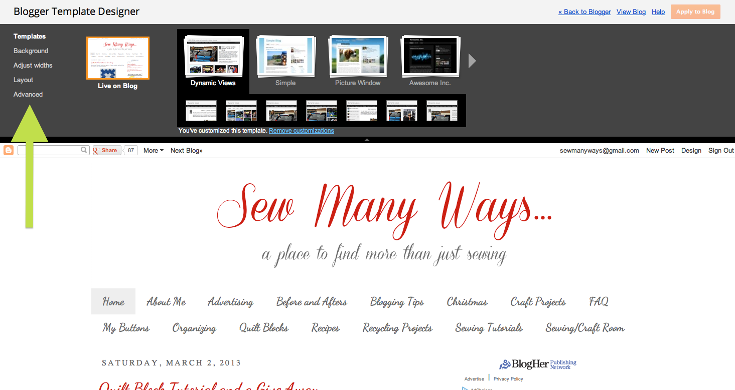 sew many ways blogging tip easy color codes for your blog design
