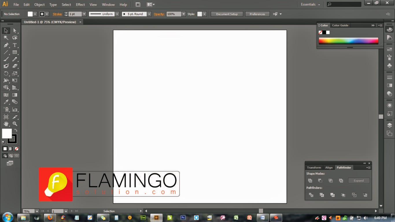 Tutorial Lengkap Cara Membuat Latar Background Abstrak Di