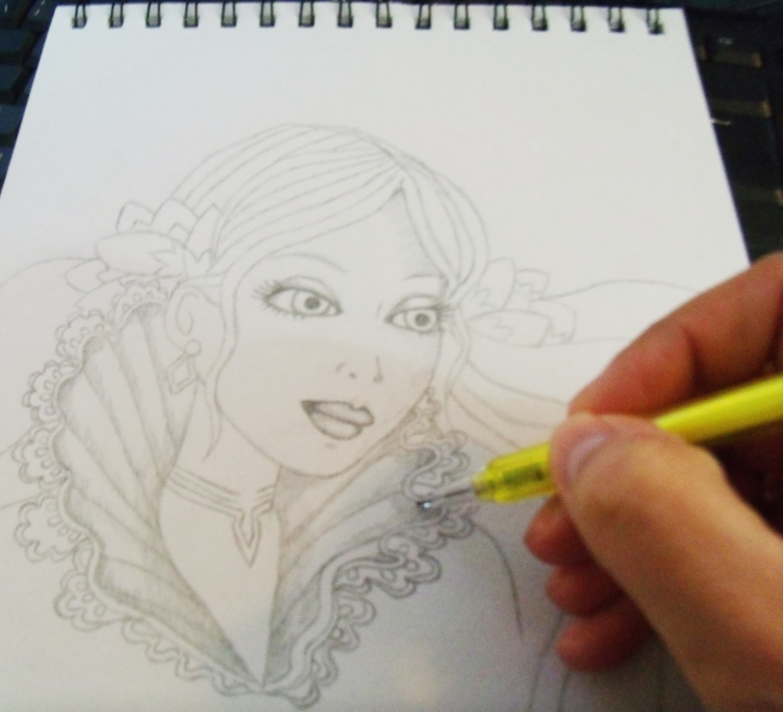ilustración, dibujo