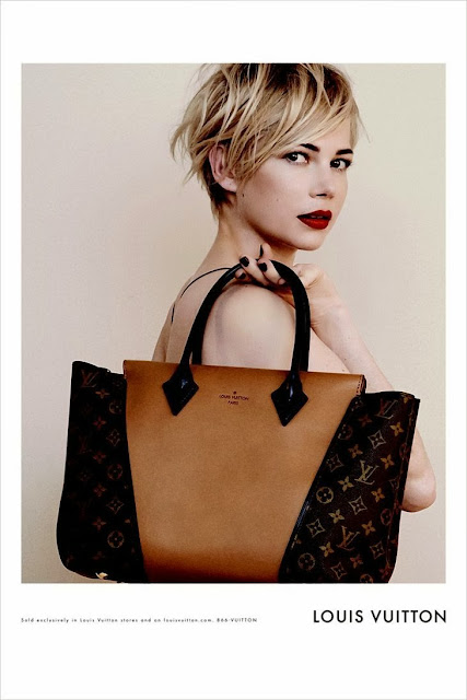Michelle Williams photographed by Peter Lindbergh for Louis Vuitton Fall 2013