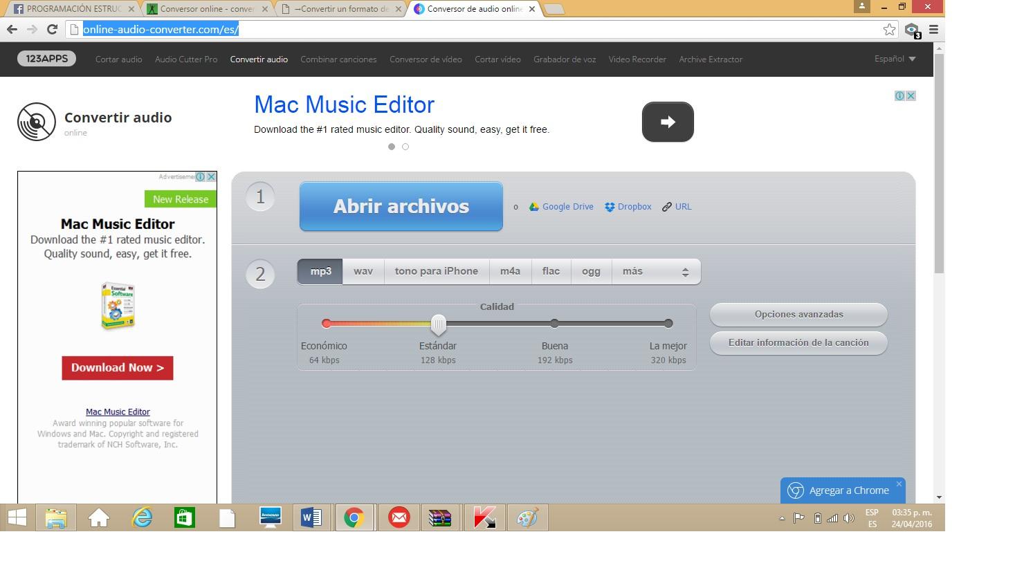 TRATAMIENTO DIGITAL DE IMAGEN Y AUDIO