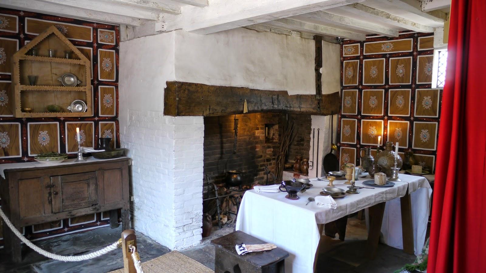 shakespeare's home, interior, stratford upon avon