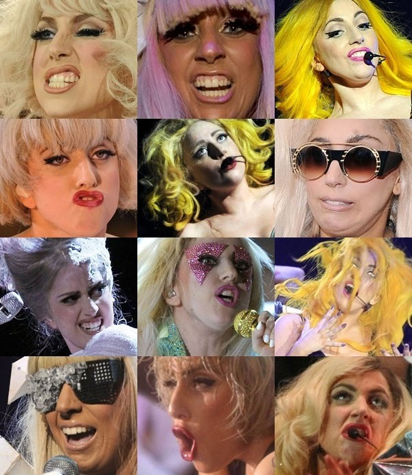 Lady Gaga's Face
