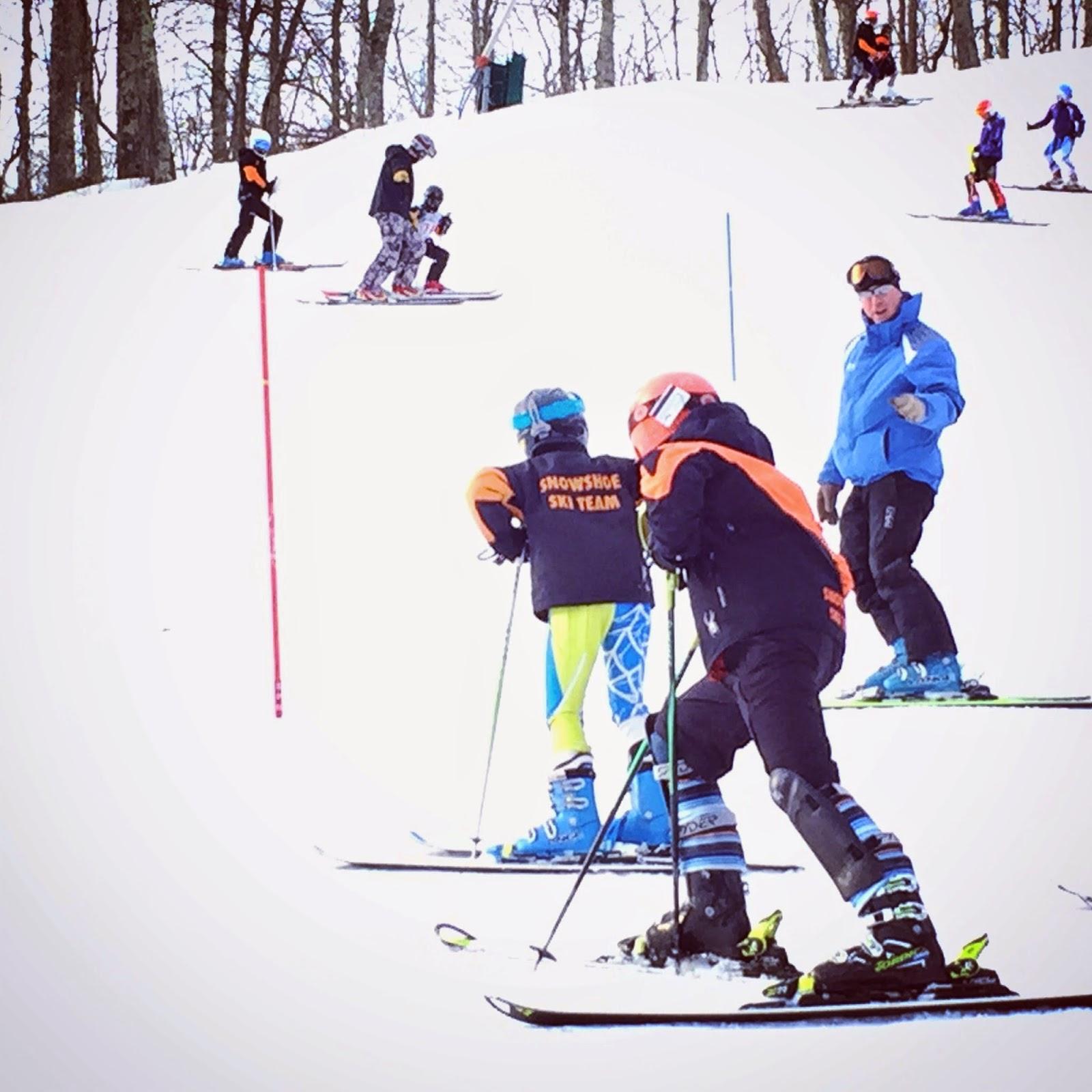 Snowshoe, race team, SARA, Wintergreen Resort, Virginia, ski,