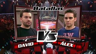 David Velardo y Álex Excribano-Batallas La voz