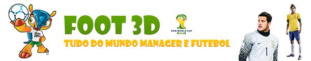 Foot 3d - Tudo dos Jogos Manager e Futebol.
