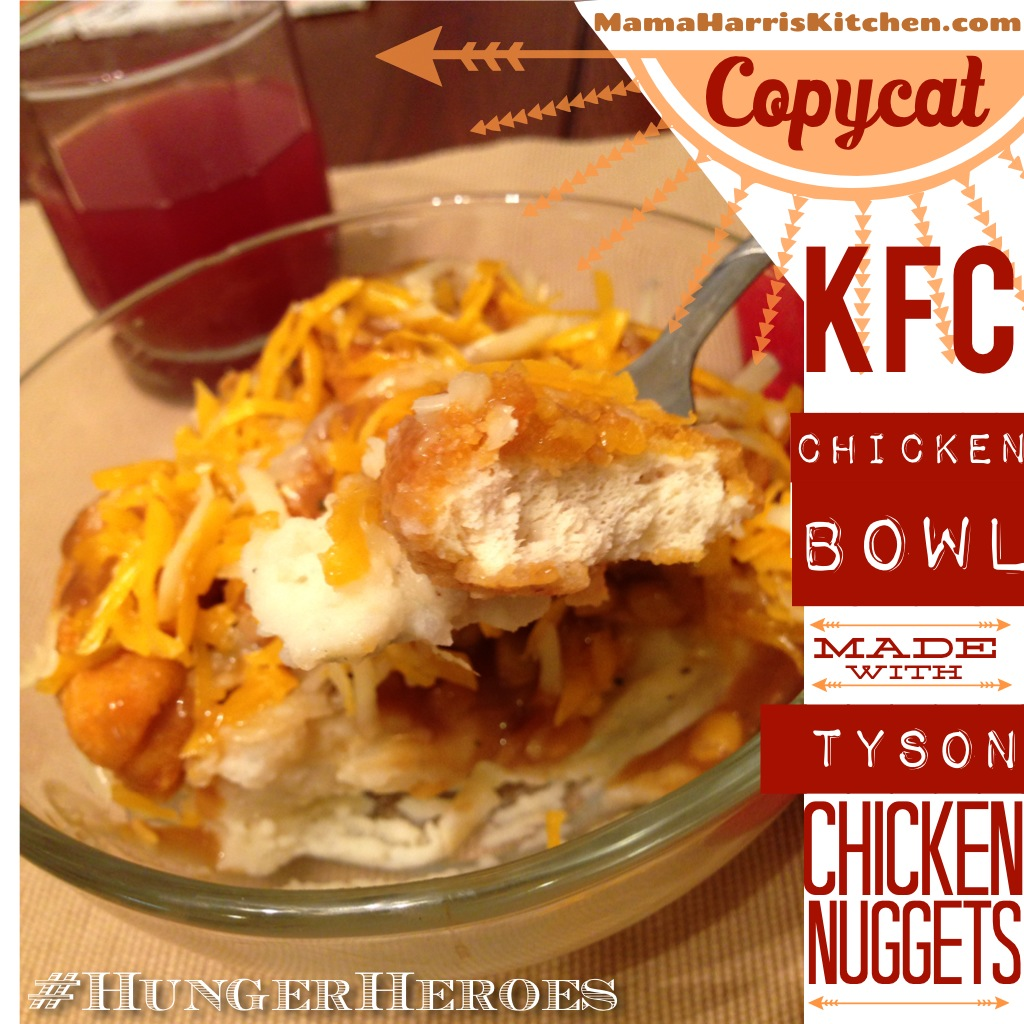 #ad Copycat Chicken Bowl With Tyson Chicken Nuggets