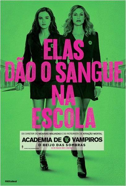 Filme Academia de Vampiros O Beijo das Sombras Dublado AVI BDRip