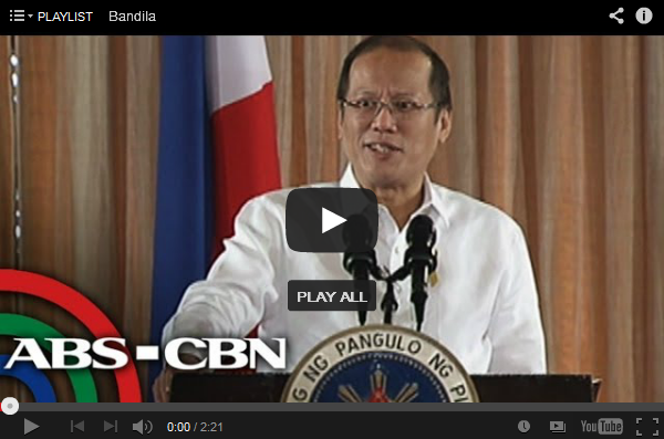 PNoy Gathers Support on China Issue the Video