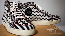 Shoe of The Month Mens July 2011- Christian Louboutin Rantus Orlato Pony Multi-Stripe Trainers