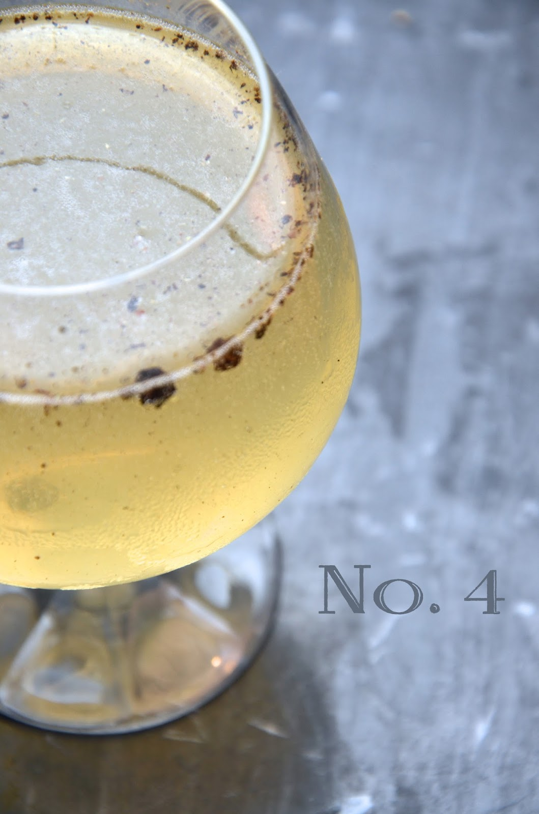 the number four | gin cocktail recipe