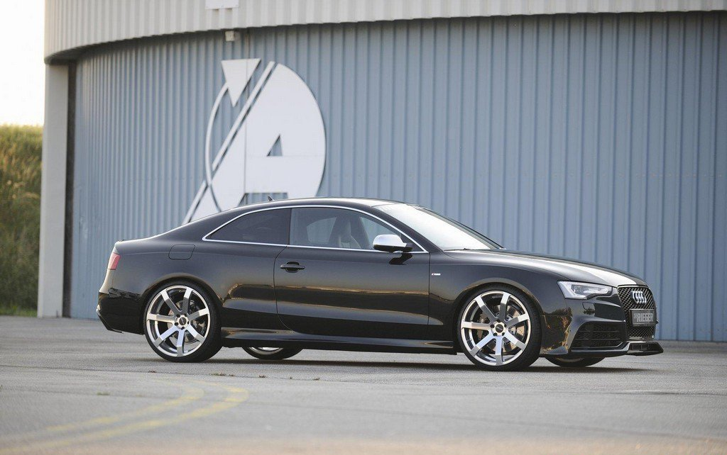 Rieger Rs5 Styled Body Kit For 2009 Audi A5 Facelift