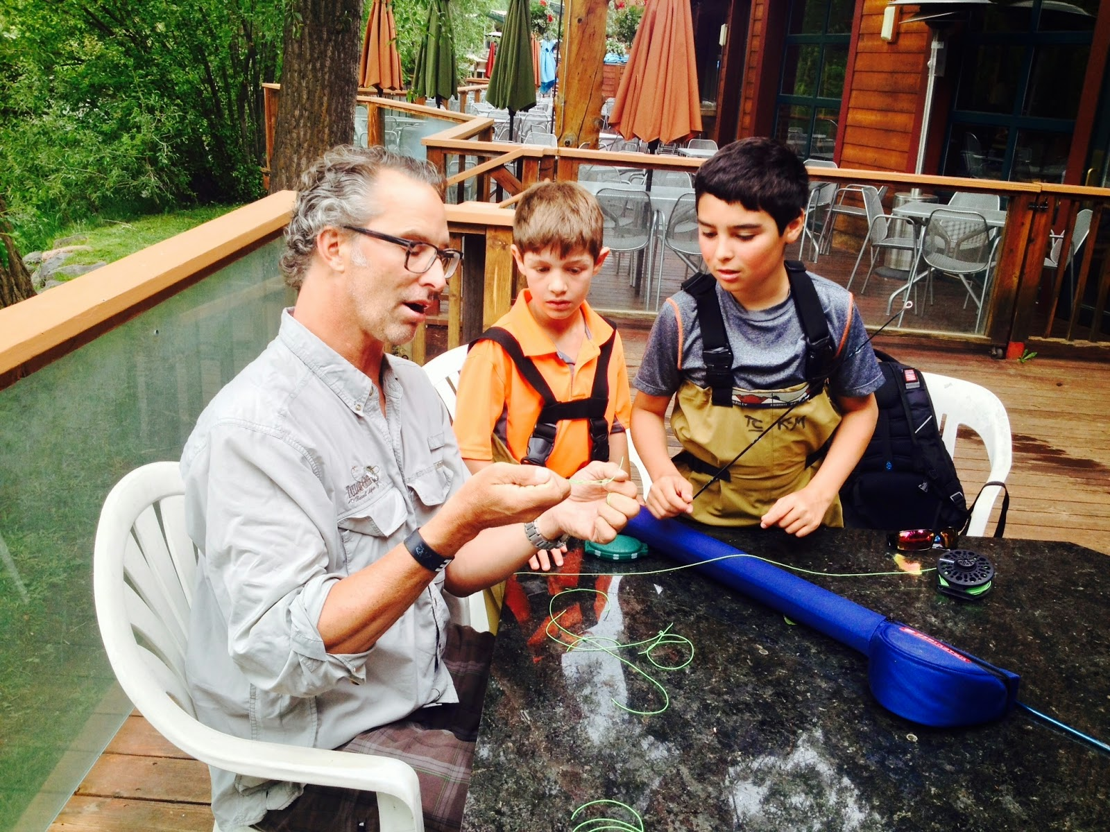 Taylor creek flyshop future taylor creek guides in training for Spring warrior fish camp