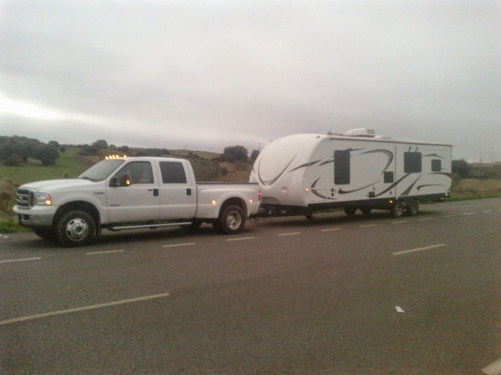 Caravan delivery, Spain, Portugal, France