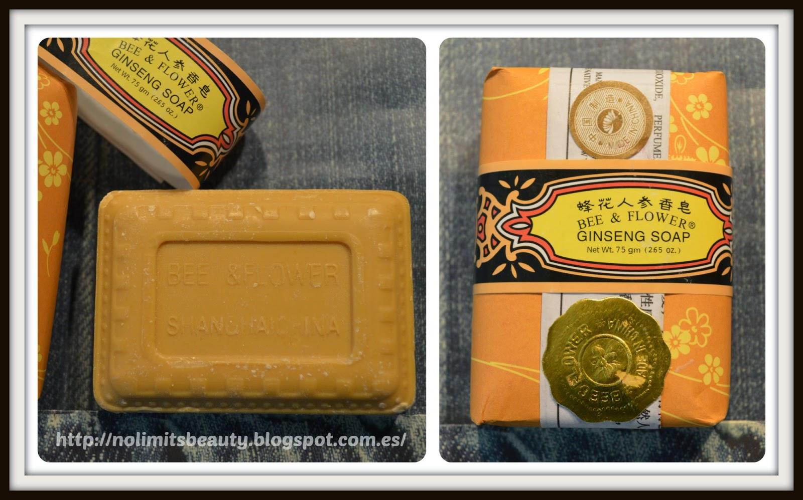 iHerb: Bee & Flower, Ginseng Soap, 2.65 oz (75 g)