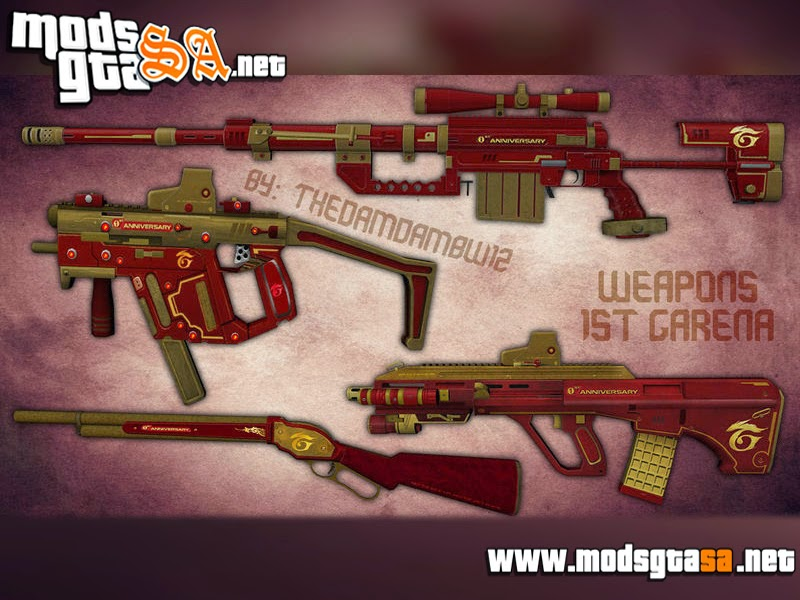 SA - Pack de Novas Armas PointBlank