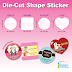 Die-Cut Shape Sticker