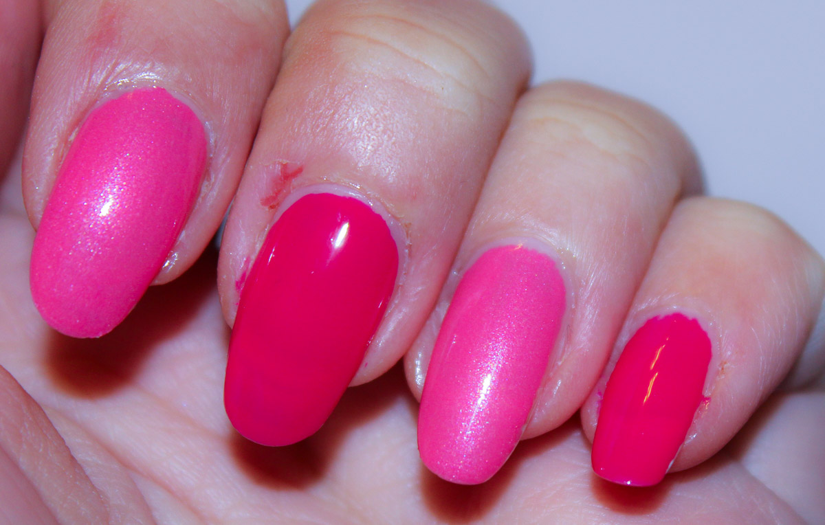 Catrice It Pieces, All you need is Pink,The Pinky and the Brain,Nagellack,NOTD,Swatches