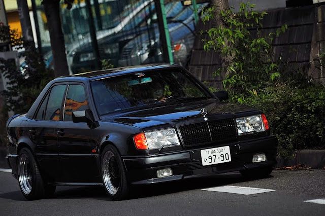 all black w124