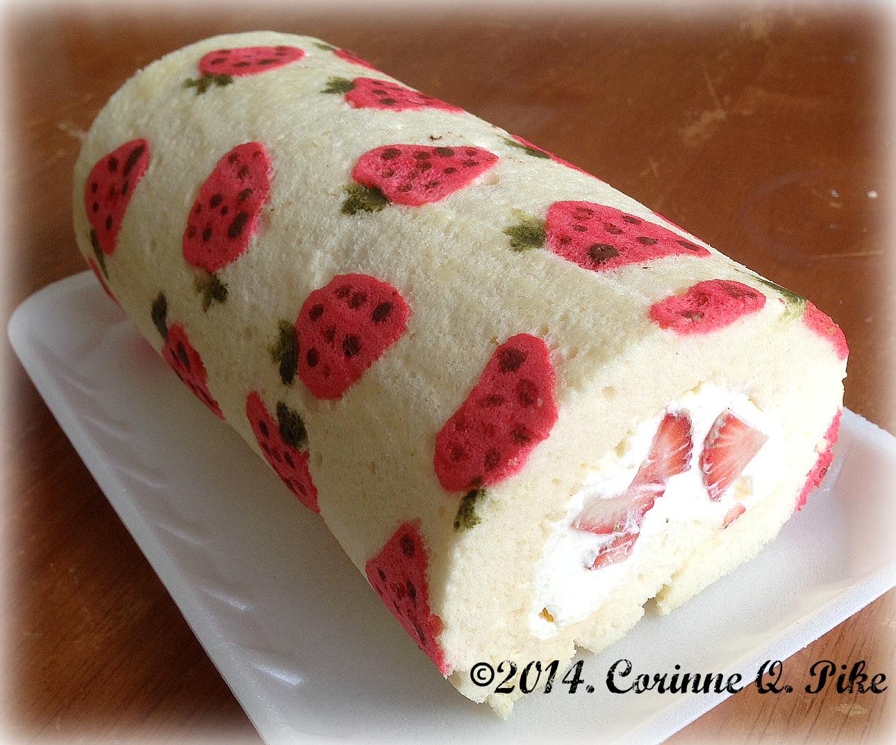 Japanese Soft Roll Cake