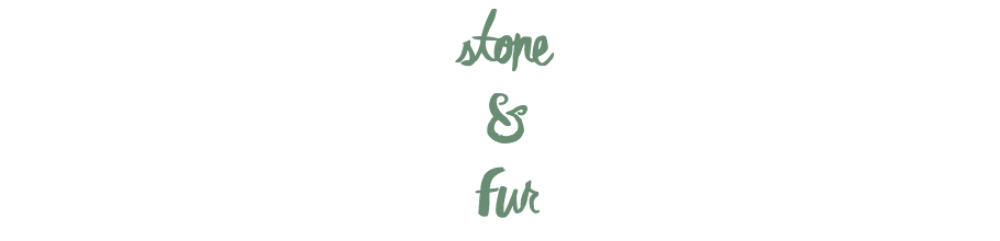 stone and fur