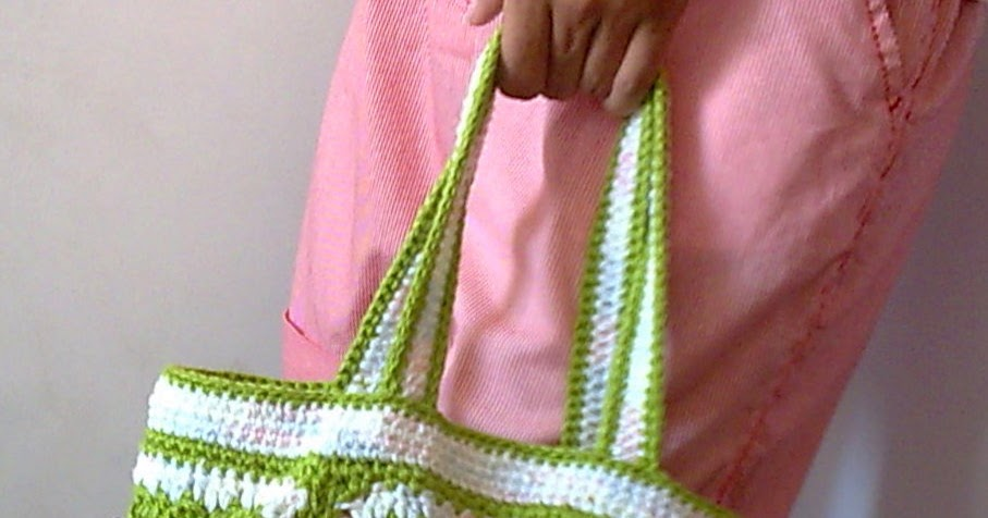 Bolsa De Mão Em Crochet : Tecendo artes em crochet bolsa de m?o com squares