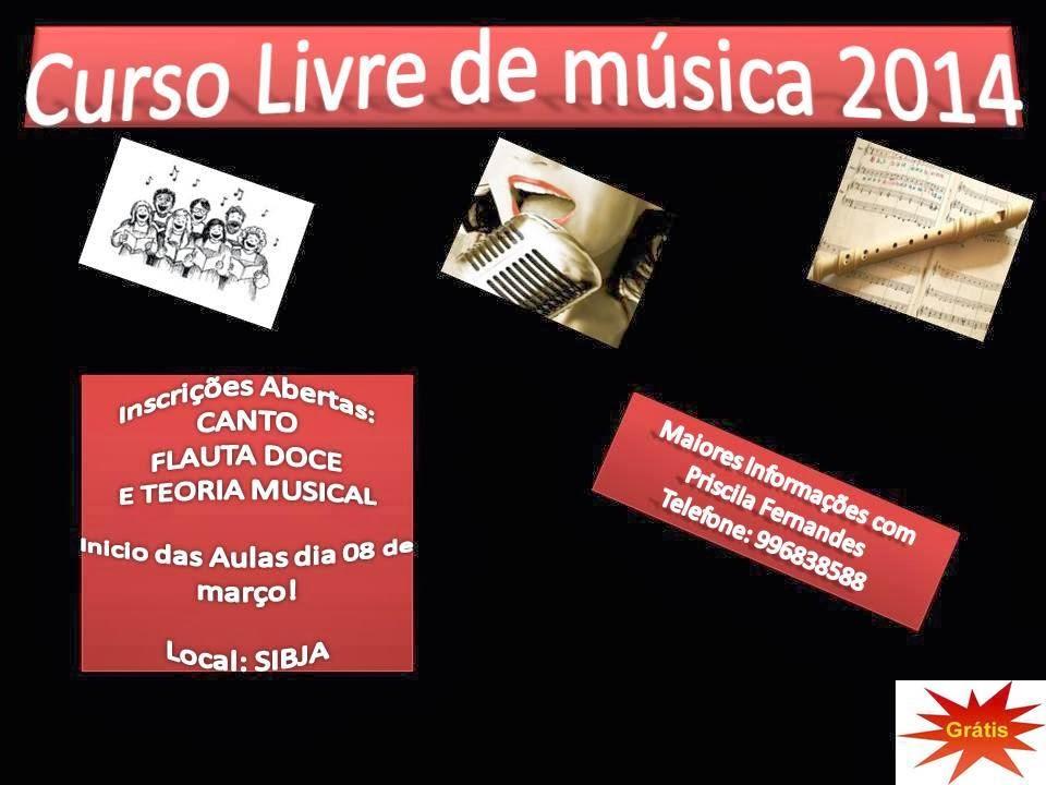 Curso Livre de Música 2014