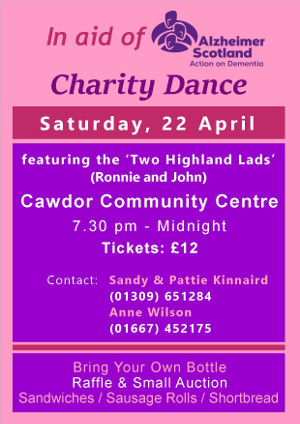Charity Dance 22 April