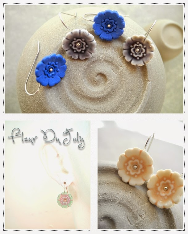 porcelain jewelry floral designs