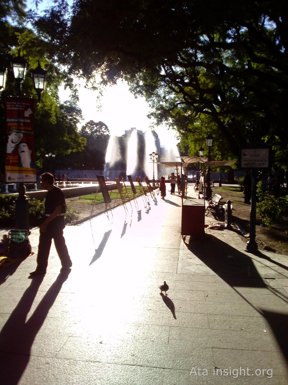 Plaza independencia Mendoza