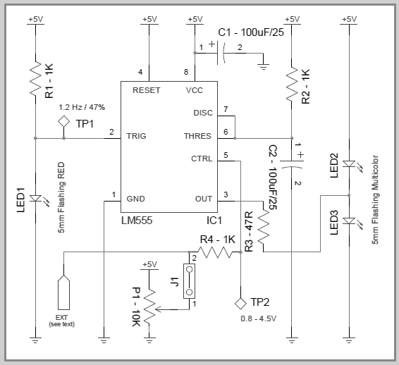 LED Circuit Diagram