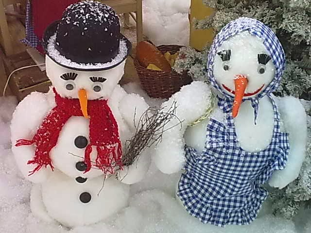 Bald kommt auch der Schnee, dann geht es uns beiden gut.