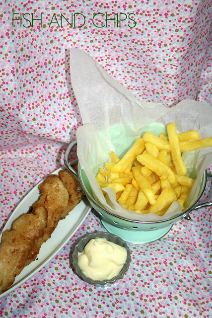 fish and chips, pescado frito, pescado rebozado
