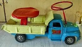 Dump Truck Buddy L sit N ride 1950