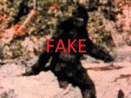 Bigfoot is fake
