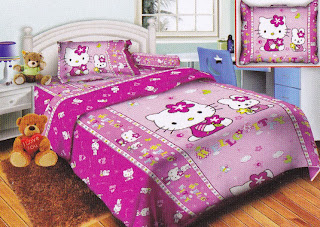 Sprei Belize Hello Kitty