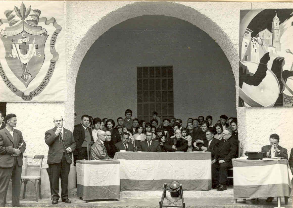 CONCURSO DE TAMBORES AÑOS  1966.