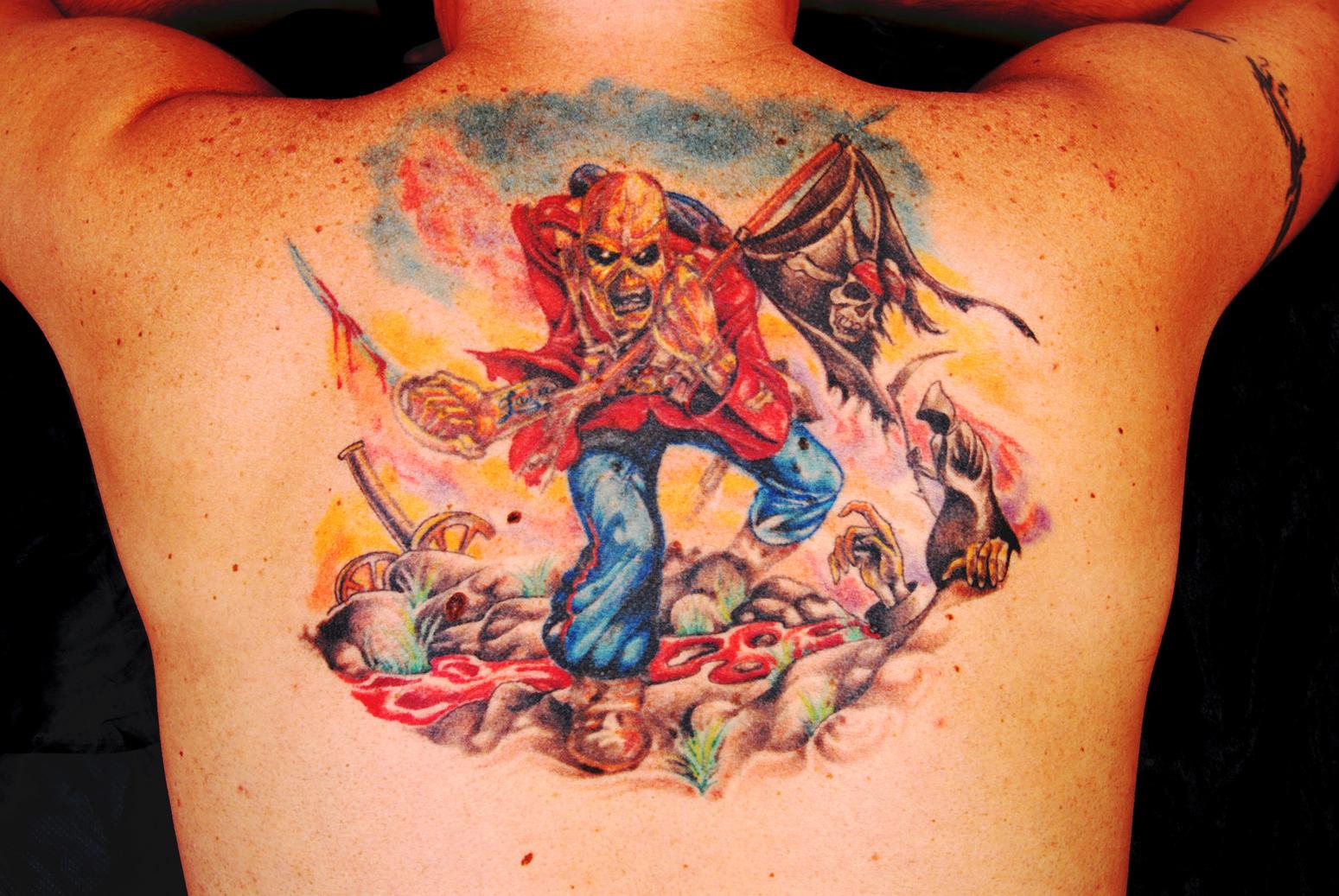 Los 10 mejores tatuajes del Rock