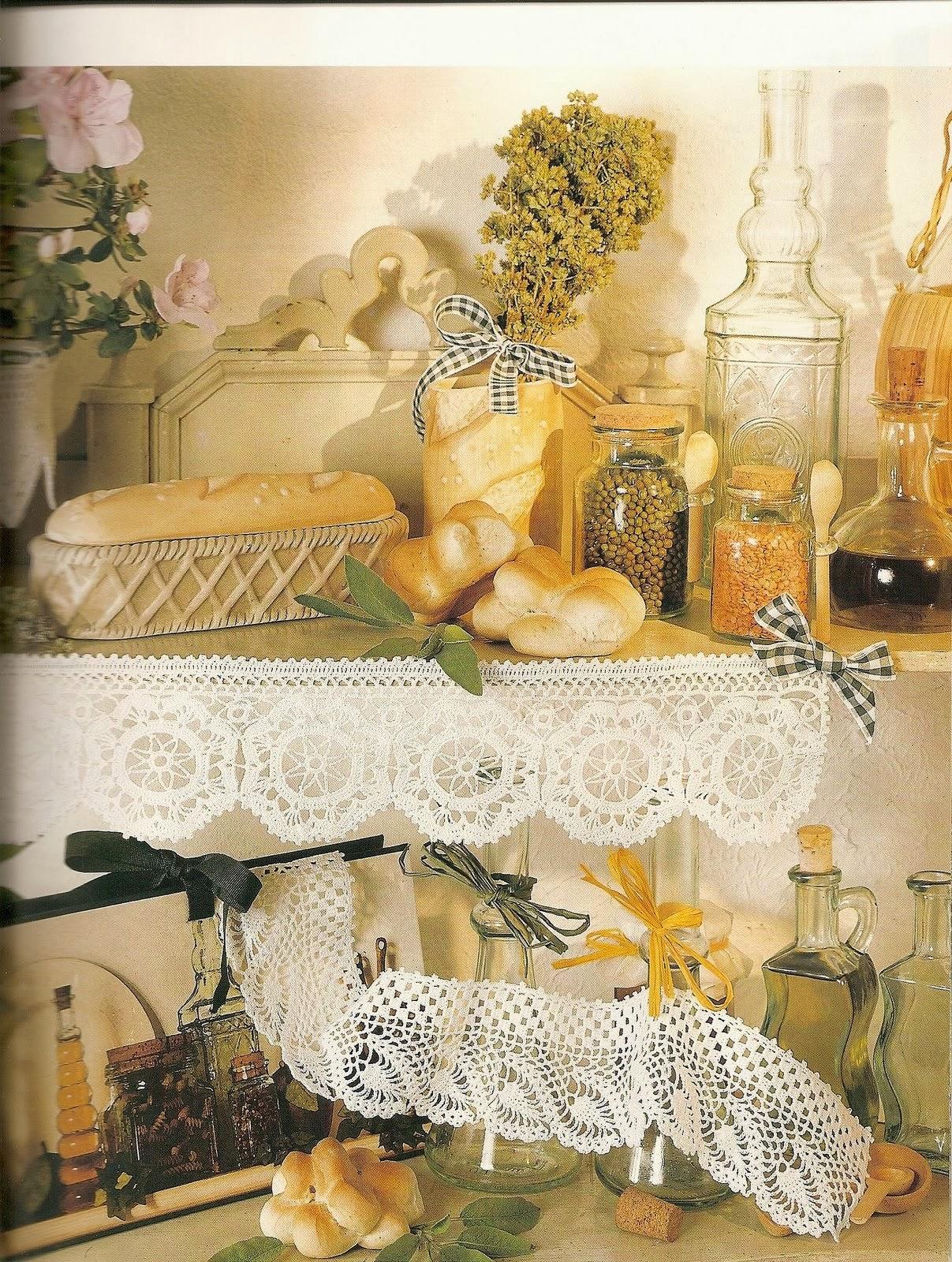 Labores para el hogar en crochet revistas de for Decoracion hogar a crochet