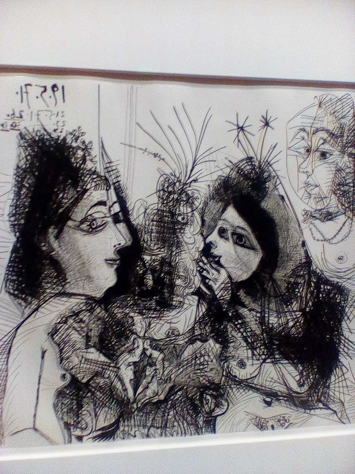 Picasso and Calder on