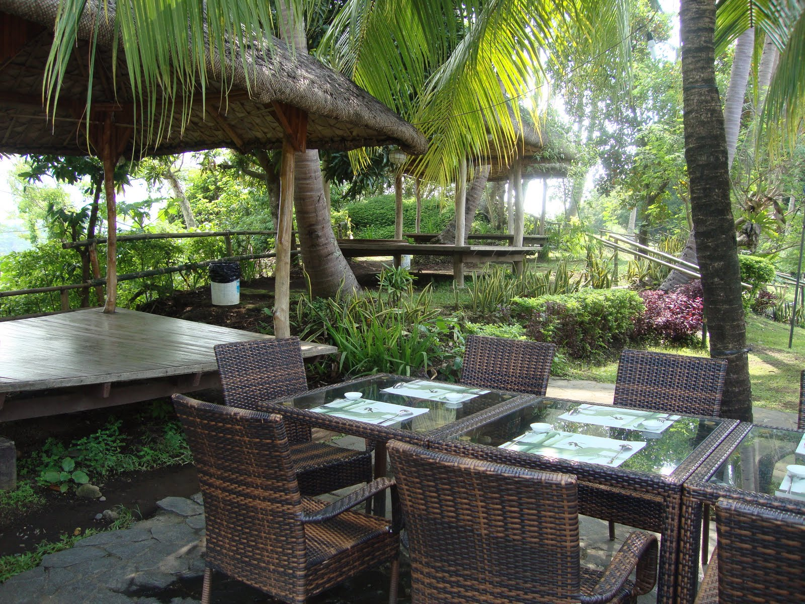 Patio Filipino Is Situated On The Mountain Of Hacienda Cascada, Where It  Holds Also, The Amansinaya Mountain Resort And The Pugad Lawin Adventure  Camp.