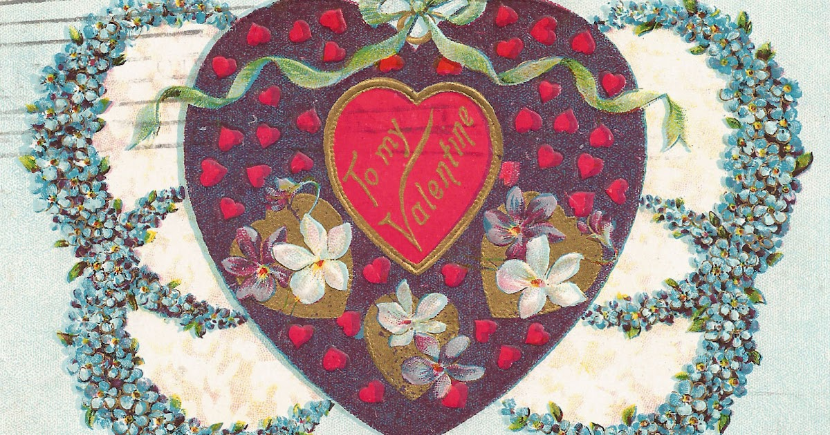 Free Clip Art - Vintage Valentine - The Graphics Fairy
