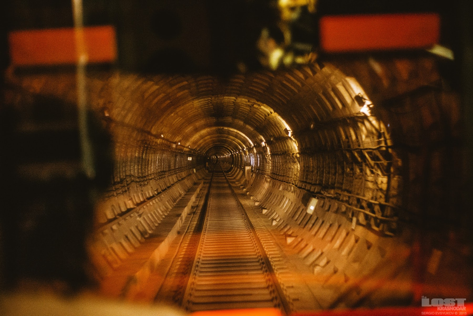Тоннель метротрама в Волгограде